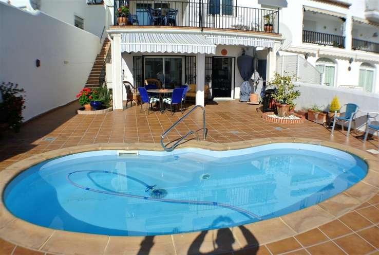 townhouse Costa tropical private pool sea views La Herradura