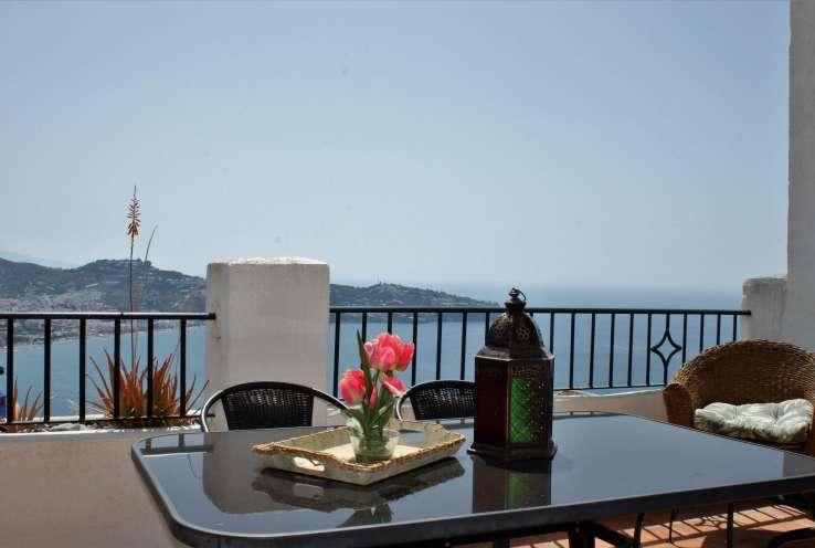 townhouse, sea views, pool, 4 bedrooms, costa tropical, La Herradura, Granada