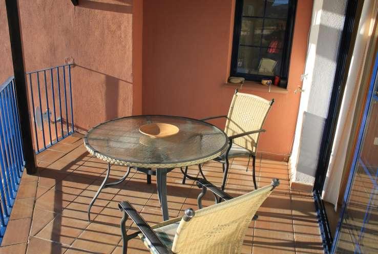 El balcon Terrace, communal pool La Herradura Granada Costa Tropical