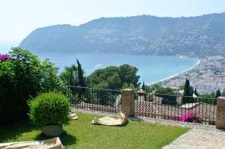 villa Chalet La Herradura Pool terrace Punta de la Mona
